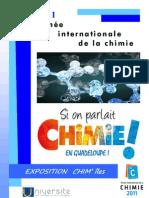 Année Internationale de la Chimie - Exposition CHIM'îles