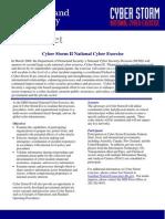 Cyber Storm II Fact Sheet 20070319 v00 (final)1