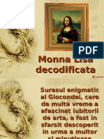 Mona Lisa decodificata