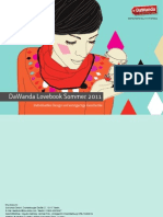 Katalog DaWanda Sommer 2011
