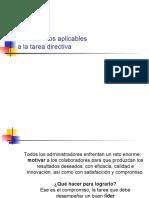 Clase 3 - Instrumentos aplicables a la tarea directiva