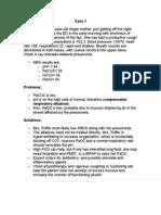 ABG's clinical scenarios