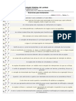 1 Lista de Exer Pedologia - ANA PAULA TRINDADE SOUZA 201920099
