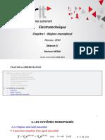 Support de Cours Electrotech Séance 3 - Système Monophasé (Suite)