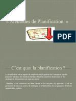 planification_techniques