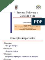 Proceso de software y ciclo de vida
