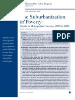 Brookings--SuburbanizationofPoverty
