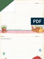 Gooseberry Patch Recipe Cards