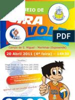 Torneio Gira Volei Cartaz