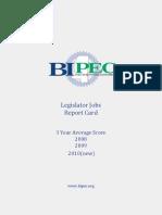 BIPEC Report Card (2008-2010)