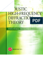 Acoustic High-Frequency Diffraction Theory