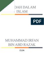 Ibadah Dalam Islam_Muhammad Irfan Bin Abd Razak_E10A
