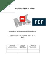 P-pr-12 Control de Vigilancia en Obra