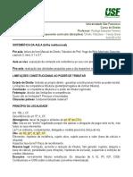 Direito Tributário - Teoria Geral - Aula 03 e 04