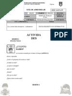 CASTELLANO GRADO 4
