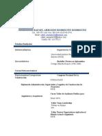 Curriculum Rafael Rodriguez Rodriguez