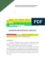 PETIÇÃO CORRIGIDA - MANDADO DE INJUNCAO