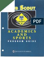Cub Scouts Academics and Sports Manual - 2010