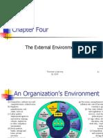 External Environment in organization structure