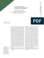 A sociologia urbana, os modelos de análise da metrópole