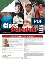 Summer Schedule 2011