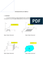 Analise Matematica integrais duplas e triplas