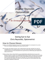 Christopher Reynolds Optometrist