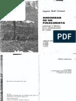Andanzas de Un Folklorista - Augusto Raul Cortazar