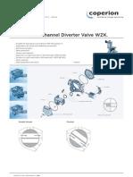 Leaflet Diverter Valve WZK
