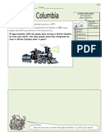 Students Worksheets 10 BC Immigration