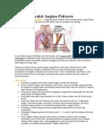 Kenali penyakit Angina Pektoris