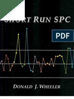 Short Run SPC Donald J.wheeler