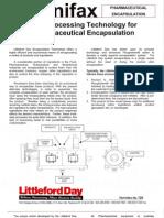 128_Pharmaceutical Encapsulation-New Processing Technology