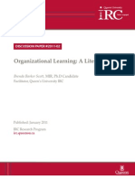 dps-organizational-learning-a-literature-review