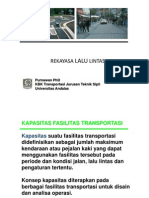 Poer - 4 Analisa Kapasitas Ruas Jalan Perkotaan