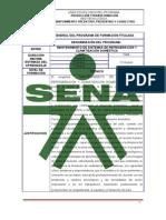 Diseño Curricular Técnico en Mantenimiento de Refrigeración y Climatización Doméstica. (1)