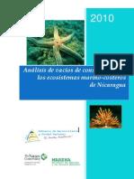 Análisis de vacíos de conservación de los ecosistemas marino-costeros de Nicaragua