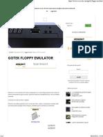 GOTEK FLOPPY EMULATOR – Accrocchi