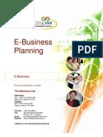 E-BUSINESS PLANNING