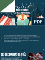 Noël en France et dans les pays francophones