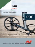 4901-0272-1 Inst. Manual Equinox 600 800 Fr