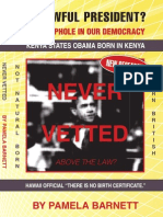 NATURAL Born Citizen Chapter of Never Vetted by Pamela Barnett