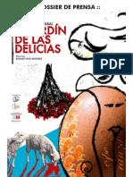 Prensa El Jardin de Las Delicias Arrabal