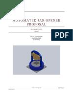 Automated Jar Opener Proposal