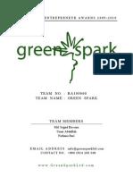2nd Team_Green Spark_Business Plan