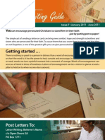 Letter Writing Guide January 2011, Open Doors - English