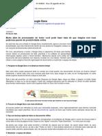 PC WORLD - Dica_ 20 segredos do Google Docs