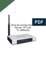 Guía de configuración TP-LINK TL-WR542G