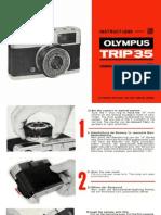 Olympus Trip 35 User Instructions