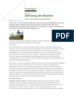2010 FR-Serie Menschenrechte und Religion